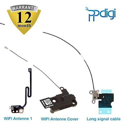PPdigi WiFi WLAN Antenne GPS Cover für iPhone 6s Plus Bluetooth Signal Modul Flexkabel Verstärker (iPhone 6s Plus, WiFi Antenne+GPS Cover Set)