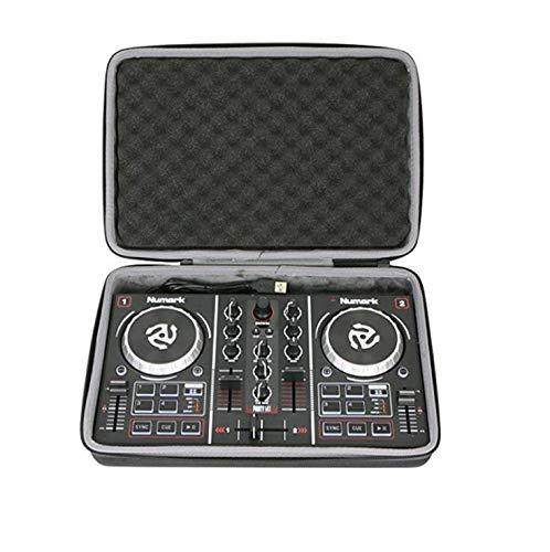 Esimen rigida per Numark party mix | starter DJ controller–Borsa di viaggio di trasporto Storage box (nero)