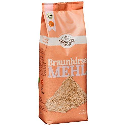 Bauckhof Bio Bauck Braunhirsemehl, glut.fr (1 x 425 gr)
