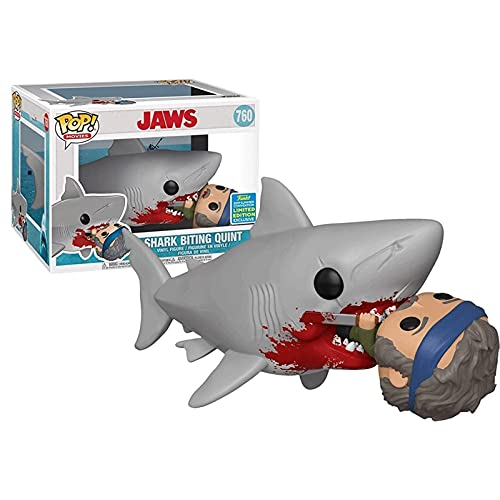 Funko Pop Movies : Jaws - Shark Biting Quint (2019 Summer Convention Exclusive) 3.75inch Vinyl Gift for Movies Fans Chibi
