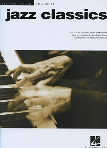 Jazz Piano Solos Volume 14: Jazz Classics: Noten für Klavier: Jazz Piano Solos Series Volume 14