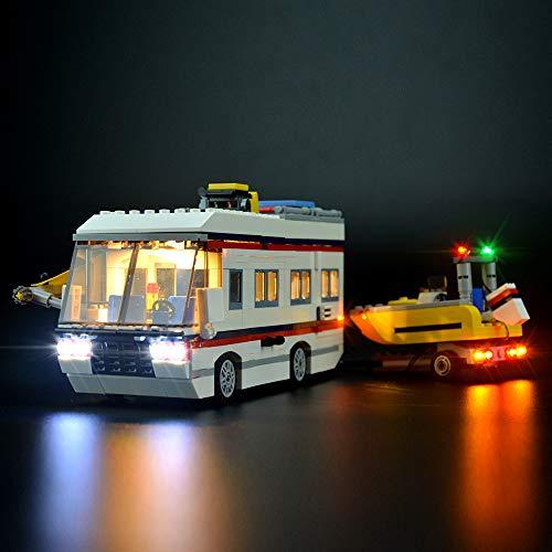 LIGHTAILING Licht-Set Für (Creator Expert Urlaubsreisen) Modell - LED Licht-Set Kompatibel Mit Lego 31052(Modell Nicht Enthalten)