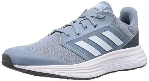 adidas Galaxy 5, Running Shoe Mujer, Tactile Blue/Sky Tint/Legacy Blue, 38 EU