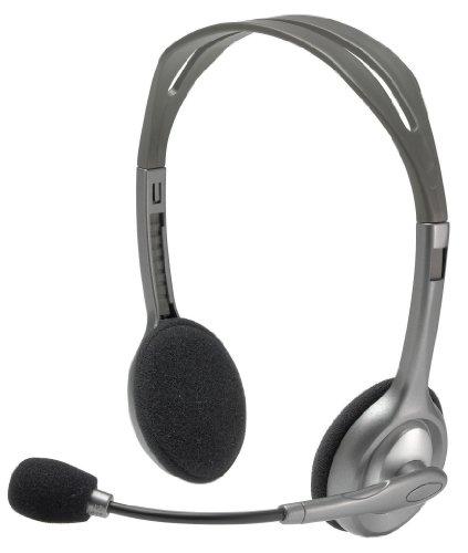 Logitech Stereo Headset H110, Standard Packaging, Silver