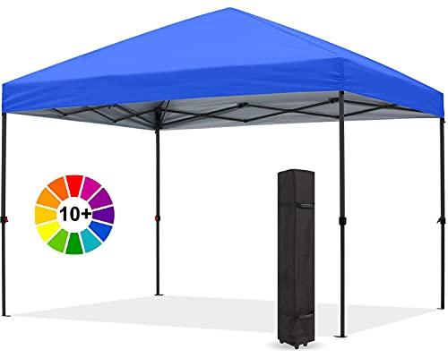 Abccanopy Tenda parasole, gazebo, da esterno, facile elevamento,10x10 serie blocco centrale