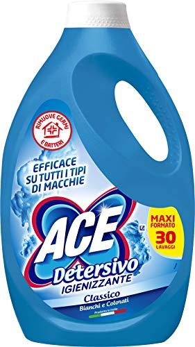 ACE Detersivo Igienizzante Classico, 30 Lavaggi, 1650 ml