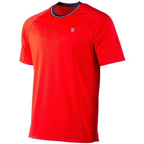 K-Swiss KS TAC Heritage Classic Camiseta de Tenis, Hombre,...