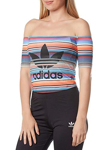 adidas T-Shirt off Should Top Donna Multicolore CW1392 40