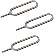 Pack of 3 SIM Card Tray Open Opener Ejector Eject Pin Removal Remover Key Tool - Compatible for All Apple Phones iPad iPho...