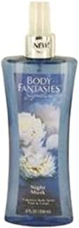 Body Fantasies Signature Night Musk by Parfums De Coeur Body Spray 8 oz for Women