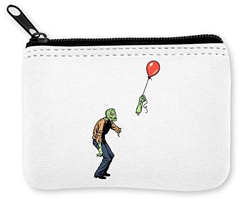 Zombie problemen met ballonnen munten ritssluiting portemonnee