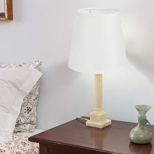SONK Cubierta de lámpara, no es fácil de decolorar Pantalla de Tela fácil de Usar para el hogar para el Comedor(PX29 Beige Fine Linen)