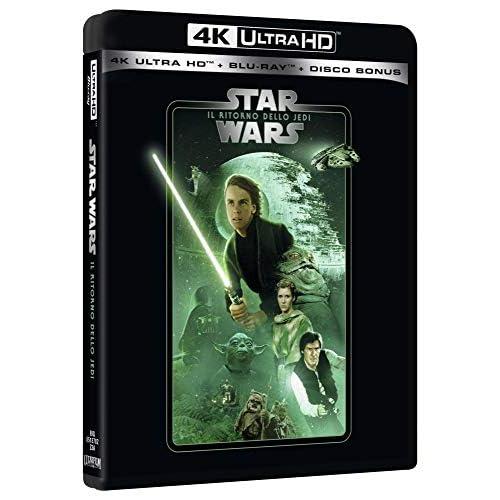 Star Wars 6 Il Ritorno Dello Jedi Uhd 4K (3 Blu Ray)