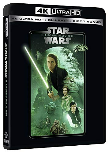 Star Wars - Episodio VI - Il Ritorno Dello Jedi (Blu-Ray 4K Ultra HD+2 Blu-Ray) [Italia] [Blu-ray]
