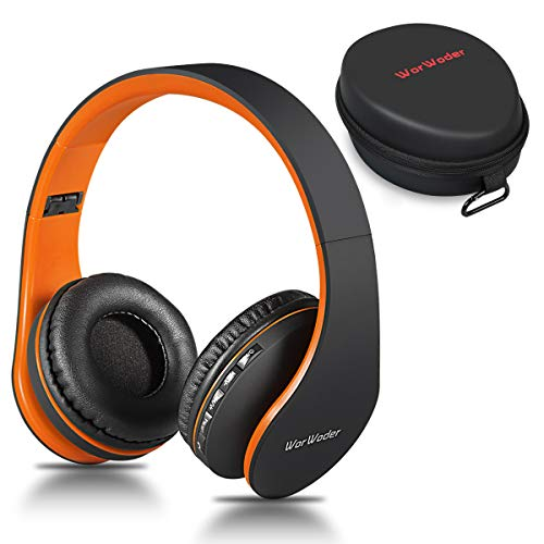 Wireless Bluetooth Over Ear Stereo Foldable Headphones,Wireless and Wired...