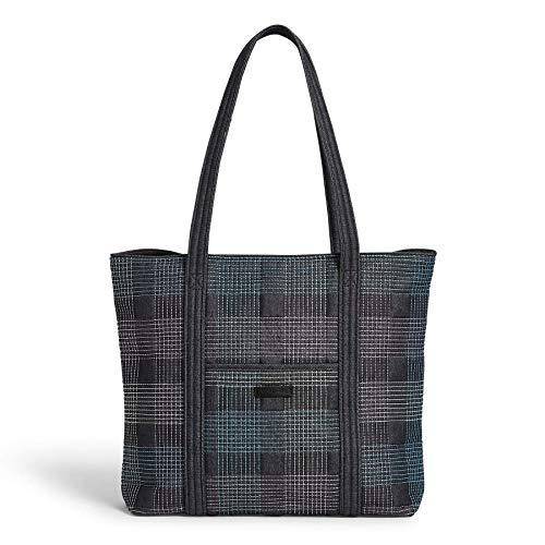 Vera Bradley Denim Vera Tote Bag, Embroidered Navy