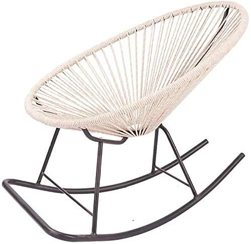 REWD - Silla mecedora para balcón, terraza, cafetería, sal, salón, balcón, terraza, Sun Lounger, tiempo libre, sofá