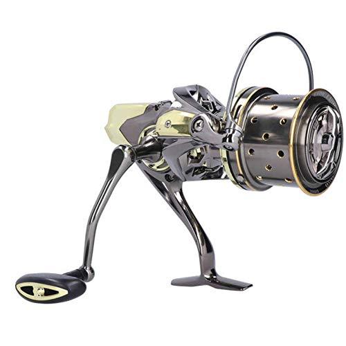 carretes de pesca girando Reel de pesca de hilado 20-25kg Force de freno 10 + 1BB Rueda de pesca de tiro largo Spinning Reel GX8000-12000 carrete de baitcasting ( Spool Capacity : 12000 Series )