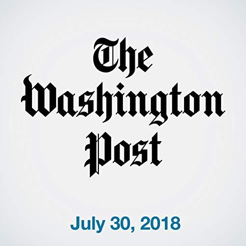 July 30, 2018 copertina