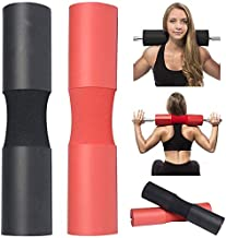 ORPIO (LABEL) Barbell Squat Neck Rack Cushion Foam Shoulder Pad Neck Back Protective Pad Fitness Padded Attachment Squat Pads for Weightlifting, Hip Thrusts, Gym Weight Lifting Hip Glute Exercises