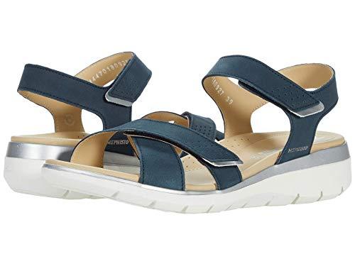 Mephisto Women's Kristina Ankle Strap Sandals Navy...
