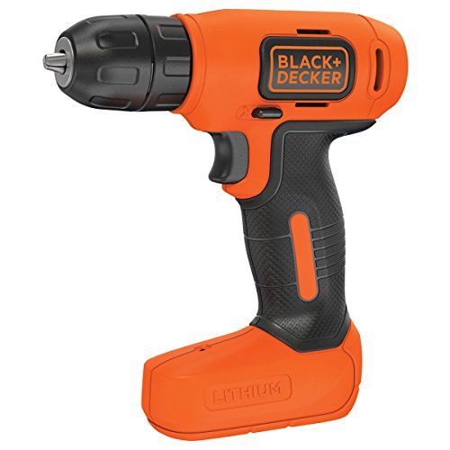 Black & Decker BDCD8K-QW drill Negro, Naranja - Taladro eléctrico (2 cm, 12 Nm, 8 Nm, 12 Nm, 0,837 m/s², 400 RPM)