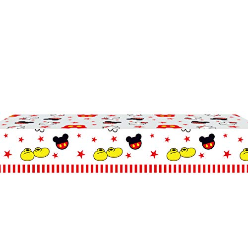 Mickey Party Tablecloth |70.8 x 42.5 Inch| Mickey Party Supplies .
