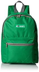 top rated Everest Basic Backpack, Emerald Green, One Size 2021