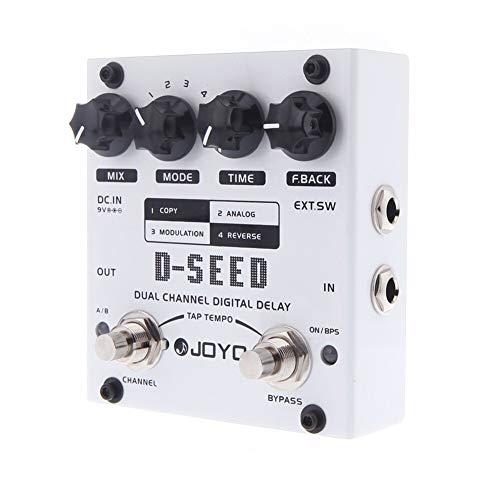 CBLD Dual Channel Digital Delay-Gitarren-Effekt-Pedal mit Vier Modi Musikinstrumententeile