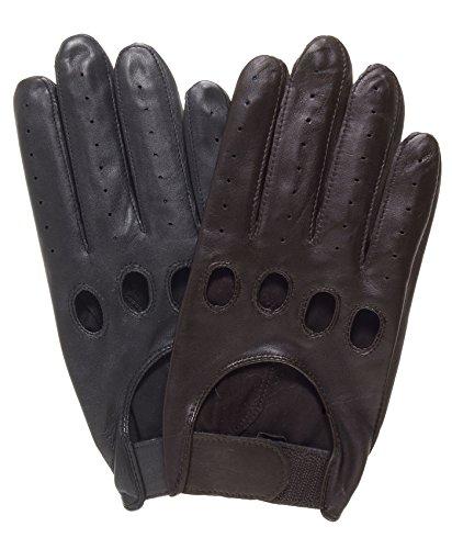 Pratt and Hart Men's Leather Driving Gloves
