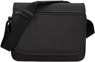 """MIER Unisex Laptop Messenger Bag For 15.6"""" Computer Shoulder Crossbody Bag for Work and School, Multiple Pocket, Update Black"""