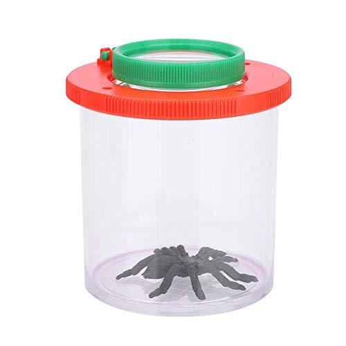 VGEBY1 Visor de Insectos, Caja de observación de Insectos portátil con Lupa para niños Exploración al Aire Libre
