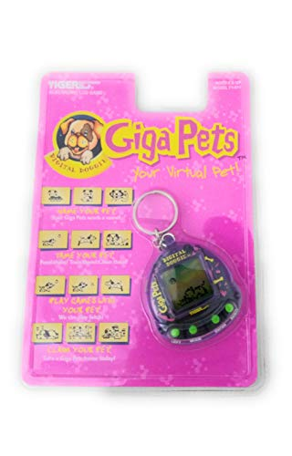 Tiger Electronics Giga Pets Virtual Digital Doggie LCD Game (1997)