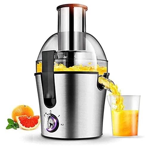 Máquinas de exprimidor, exprimidores centrífugos extractores BPA anti-goteo eléctrico, libre con jarra...