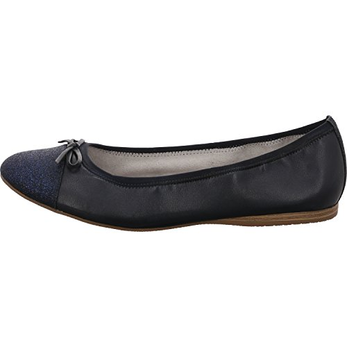 Tamaris Dames Ballerinas Da.-Ballerina 1-1-22129-20-724 blauw 401595