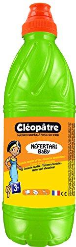 Cléopâtre - PGBB1-16 - Peinture Gouache Néfertari Baby - Vert printemps - Flacon 1 L