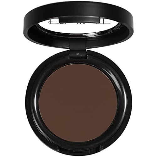 ISMINE Single Eyeshadow Powder Palette Matte Coffee, High Pigment, Longwear Single Brown Eye Makeup for Day & Night (04)