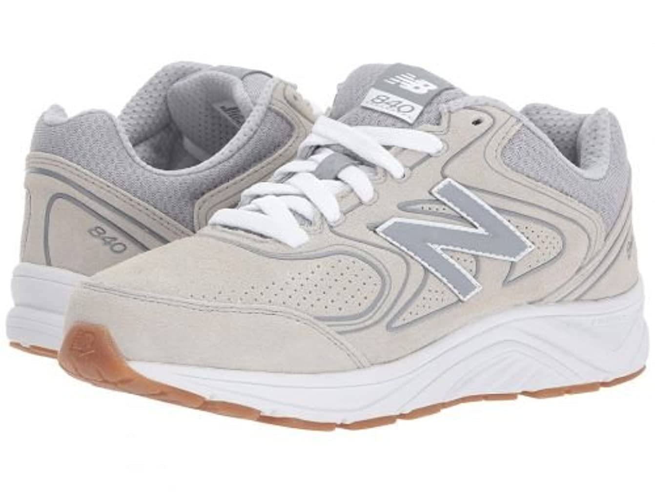 モジュール悪行部族New Balance(ニューバランス) レディース 女性用 シューズ 靴 スニーカー 運動靴 WW840v2 - Grey/Grey 12 D - Wide [並行輸入品]