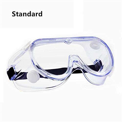 LMWB beschermende bril, anti-Saliva bril, krasbestendige beschermende bril heldere lens volledig beschermt uw ogen Standaard