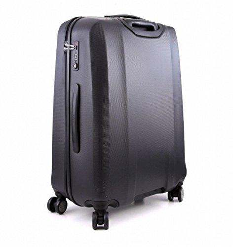 Große Koffer Reisekoffer Titan Xenon 74x53x31 cm (Schwarz)
