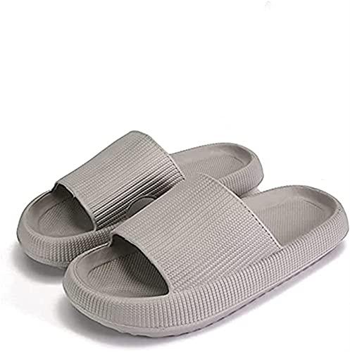 Zapatillas para Mujer, Hombre, Ducha, Sandalias de baño de Secado rápido, Punta Abierta, Suave, Antideslizante, Masaje, Piscina, Gimnasio, Zapatillas para Interior y Exterior