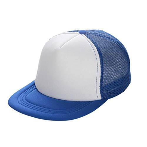 XUETON Unisex Baseball Cap Dad Trucker Hat Baseball Cap Perfect for Running Workouts and Outdoor Activities (White)