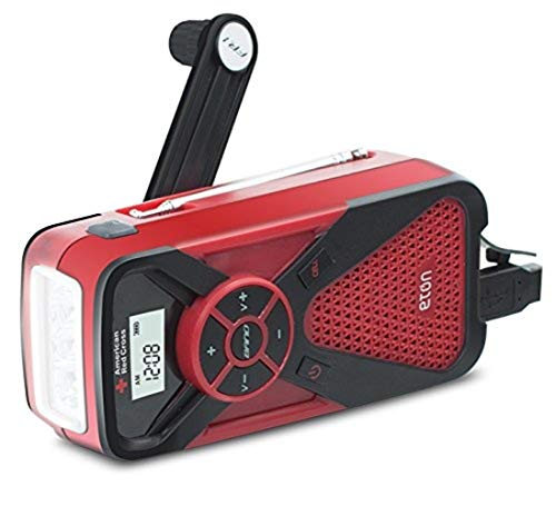 American Red Cross FR1 Emergency Weather Radio with Smartphone Charger