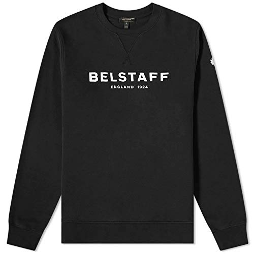 Belstaff 1924 Printed Logo Sweatshirt Black-M