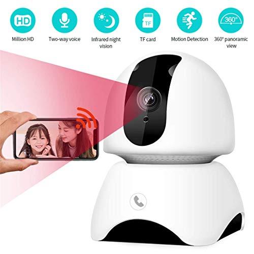 WYJW 1080P Drahtlose IP-Kamera, Bewegungserkennung, Infrarot-Nachtsichtkamera WiFi-Überwachung der Sicherheit zu Hause, taktile Anziehungskraft, Babyphone