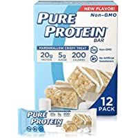 12-Count Pure Protein Marshmallow Crispy Treat Pure Protein Bars