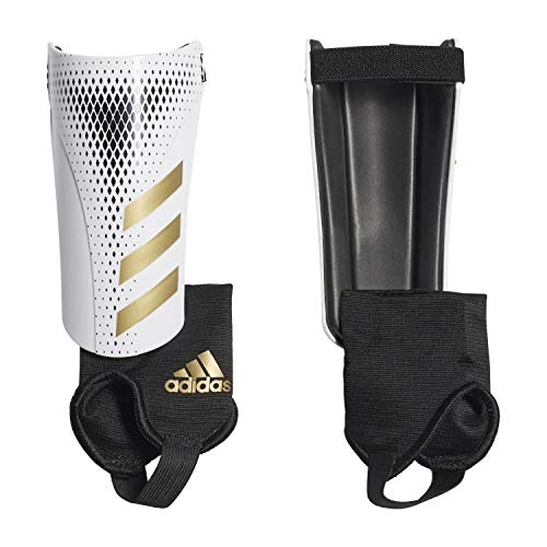 adidas Jugendliche Predator 20 Match Schienbeinschoner, white/Gold met./Black, M