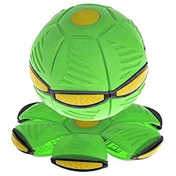 TTCPUYSA Magic UFO Ball Flying Saucer Ball Magic Flying Football Deformation Vent Ball Toys Decompression Children Outdoor Parent-Child Interactive Toys