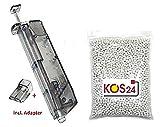 KOSxBO® 5000 Softair BBS 0.20g Premium BB Kugeln 6mm Airsoft inklusive Speedloader