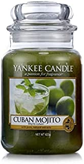 Yankee Candle Havana Collection Cuban Mojito Large Jar Candle - European Exclusive